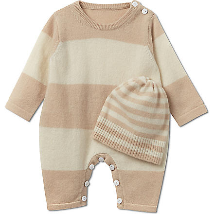 MY 1ST YEARS Cashmere gift set 0-3 months (Beige