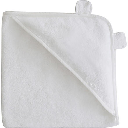 MY 1ST YEARS Hooded towel (White