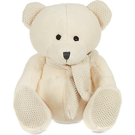 MY 1ST YEARS Scarf bear (Cream