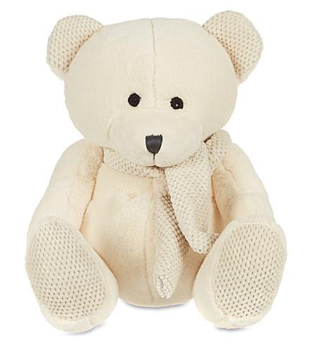 MY 1ST YEARS Scarf bear (Cream
