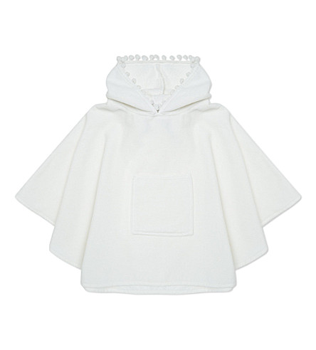 MY 1ST YEARS Poncho towel (White