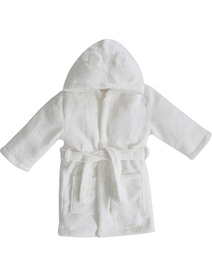 MY 1ST YEARS Hooded bathrobe with ears 1-2 years