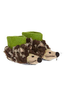 SEW HEART FELT Herby hedgehog slippers