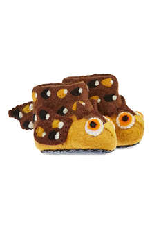 SEW HEART FELT Oakley owl slippers