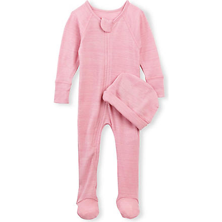 NUI Thermal bodysock and beanie 0-12 months (Rose