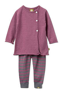 NUI IvyMae cardigan and leggings set 0-24 months