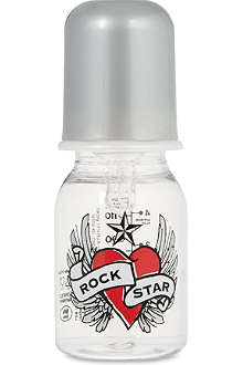 ROCK STAR BABY Hearts and wings bottle