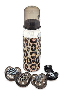 ROCK STAR BABY Leopard gift set