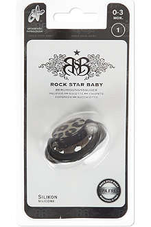 ROCK STAR BABY Leopard pacifier