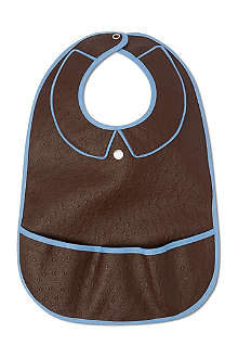 LES PASCALETTES Balou leather-look bib