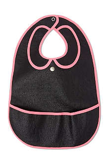 LES PASCALETTES Barby leather look bib