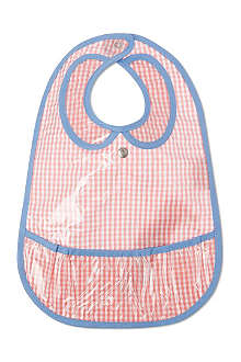 LES PASCALETTES Barby gingham bib
