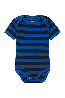 CLAESENS Striped short sleeved romper 3-18 months