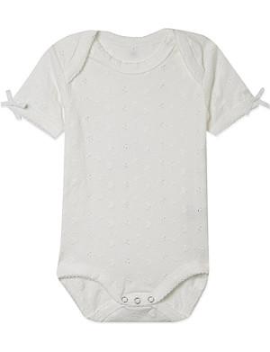 CLAESENS Short sleeved babygrow 3-18 months