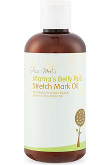 SHEA MOOTI Mama's Belly Rub Stretch Mark oil