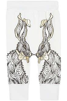 KAREN BROST Bunny print sweatpants 6 months - 4 years