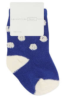 HANSEL FROM BASEL Mini puff dot socks 0 months – 2 years