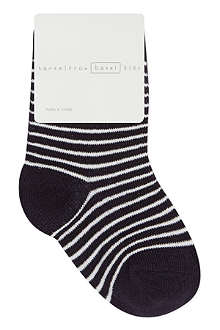 HANSEL FROM BASEL Striped crew socks 0 months - 24 months