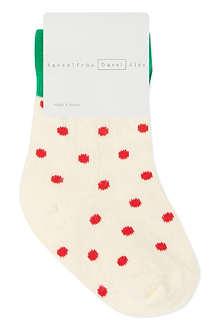 HANSEL FROM BASEL Mini strawberry socks 0 months - 24 months