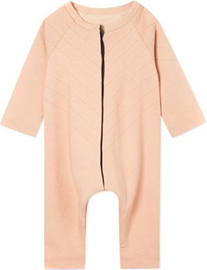 JUNGERA Moon cotton sleepsuit 3-12 months