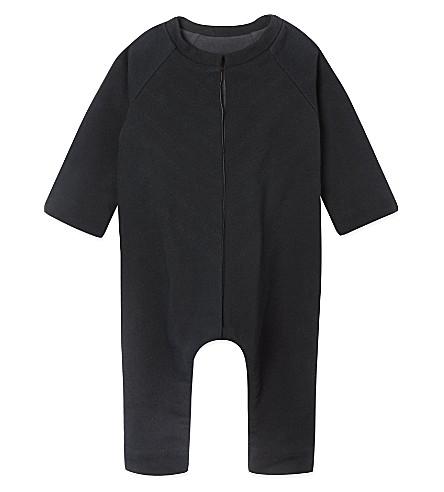 JUNGERA Moon cotton sleepsuit 3-12 months (Grey