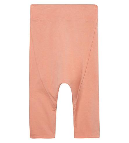 JUNGERA Soft bias-cut trousers 3-24 months (Pink