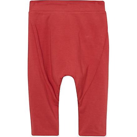 JUNGERA Soft bias-cut trousers 3-24 months (Red