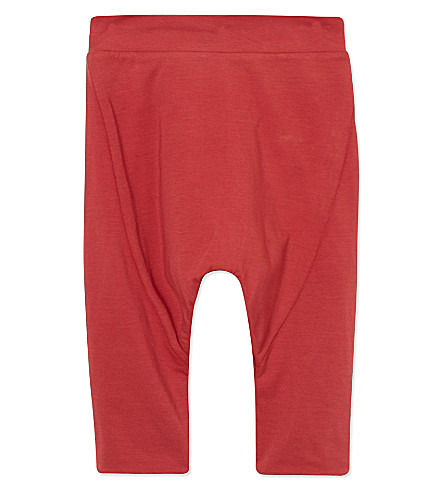 JUNGERA Soft bias-cut trousers 3-24 months (Red