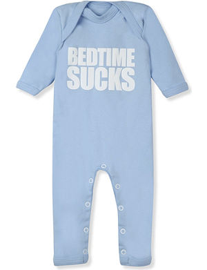 SNUGLO Bedtime sucks baby-grow 0-6 months