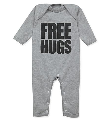 SNUGLO 婴儿成长的自由拥抱 0-6 月 (黑 + 在 + 石灰泥 + 灰色
