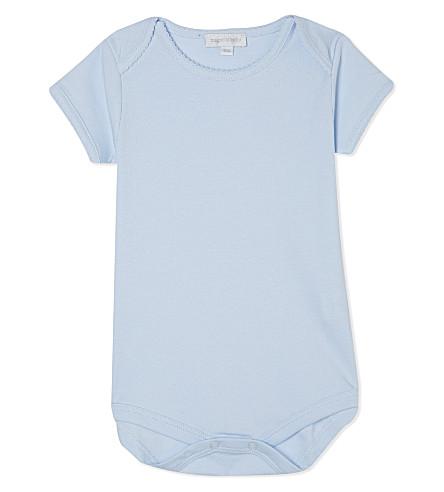MAGNOLIA 短袖棉衣3-12 月 (实 + 轻 + 蓝