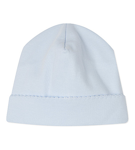 MAGNOLIA Plain hat 3-6 months (Solid+light+blue