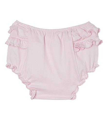 MAGNOLIA Cotton nappy cover 3-12 months (Solid+pink