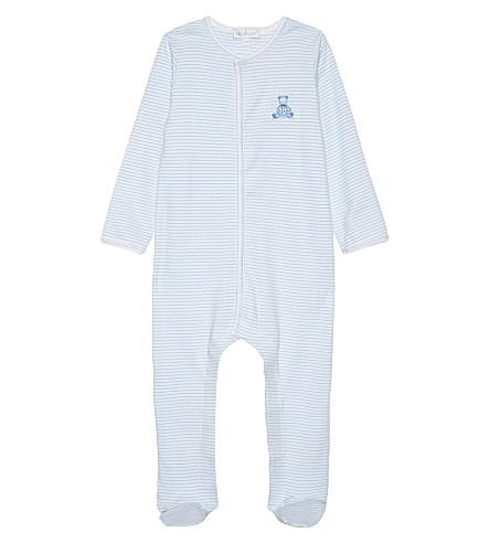 MAGNOLIA 泰迪皮棉婴儿生长 newborn-18 月 (白色/蓝色