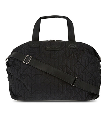 TIBA & MARL RAF duffel bag changing bag (Black