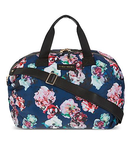 TIBA + MARL RAF holdall changing bag (Floral