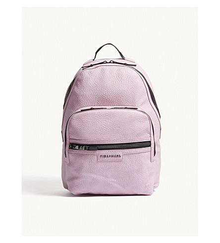 TIBA + MARL Elwood faux-leather backpack (Pink