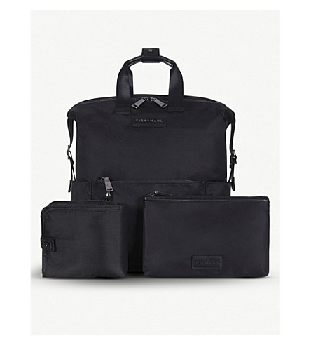 TIBA + 石灰泥独家发售富兰克林手提袋 (黑色