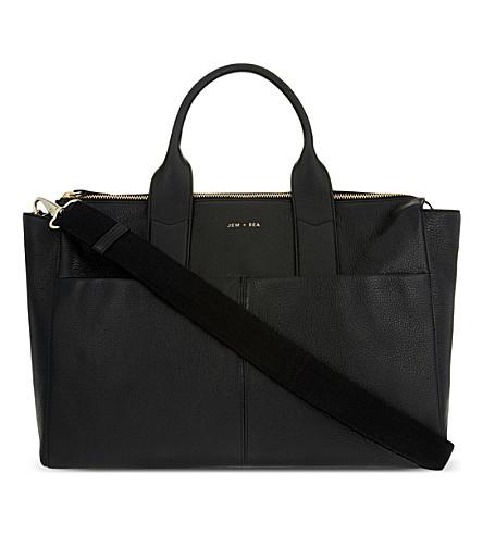 JEM + BEA 杰迈玛皮革换袋 (黑色