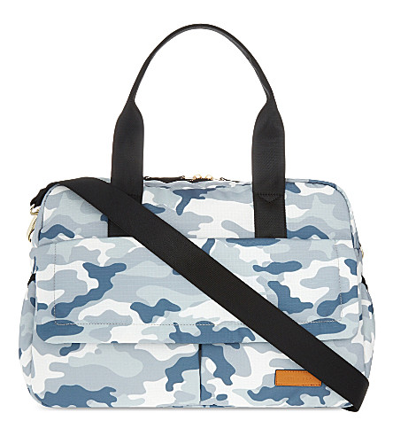 JEM + BEA Marlow camouflage nylon changing bag (Camo