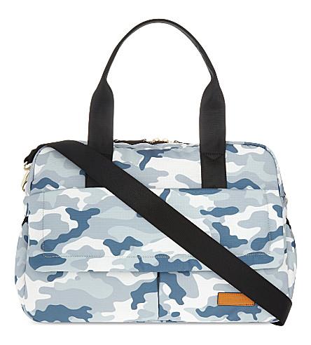 JEM + BEA Marlow camouflage nylon changing bag (Camo