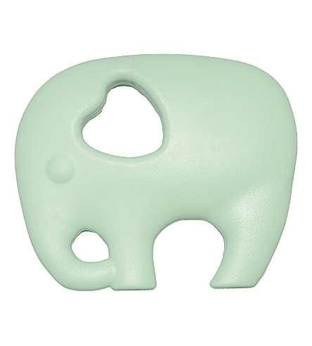 NIBBLING Elephant silicone teething toy