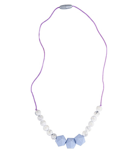NIBBLING Wetherby silicone teething necklace
