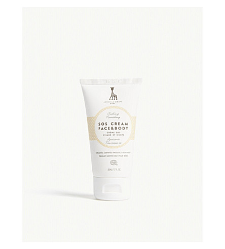 SOPHIE THE GIRAFFE SOS baby face and body cream 50ml