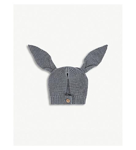 LIEWOOD 兔针织羊毛帽 (灰 + 混杂