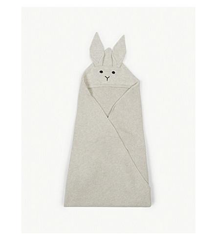 LIEWOOD威利兔有机棉毯 (小飞 + 灰