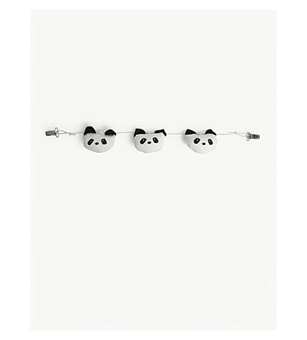 LIEWOODHolger 有机棉熊猫婴儿车链 (霜