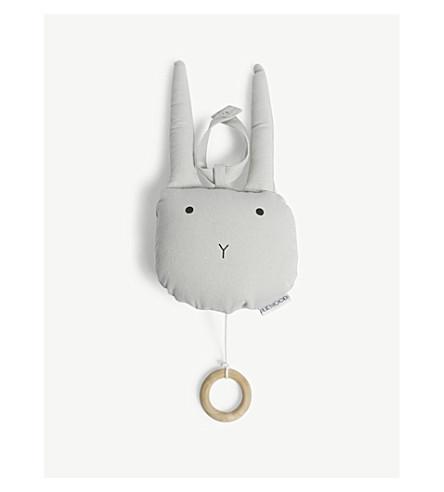 LIEWOOD Alma rabbit music mobile (Dumbo+grey