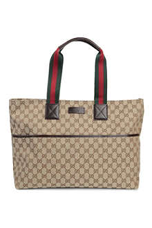 GUCCI Canvas changing bag