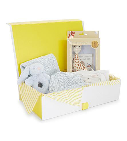 SELFRIDGES Baby boy small gift hamper (Multi